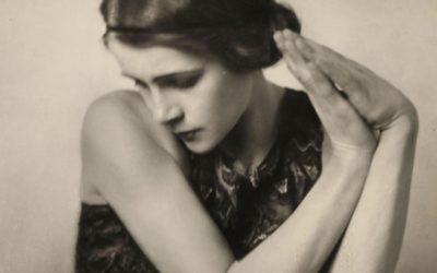 Die Tänzerin Edith von Schrenck